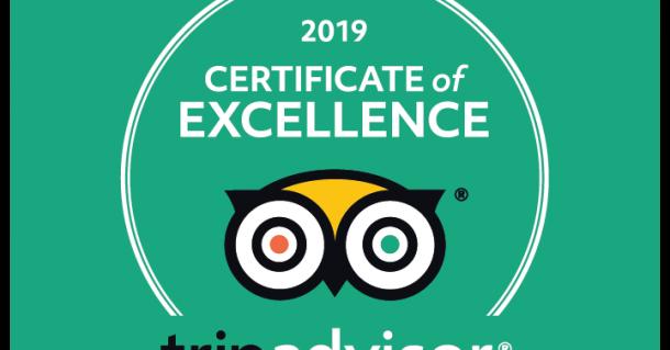 Breezy Oak Villas Earns 2019 TripAdvisor Certificate of Excellence